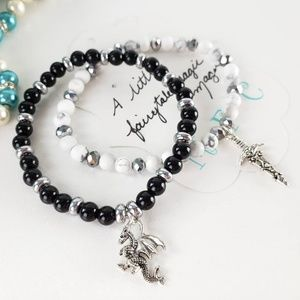 Dragon Slayer Bracelet Set